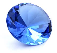 A large sapphire